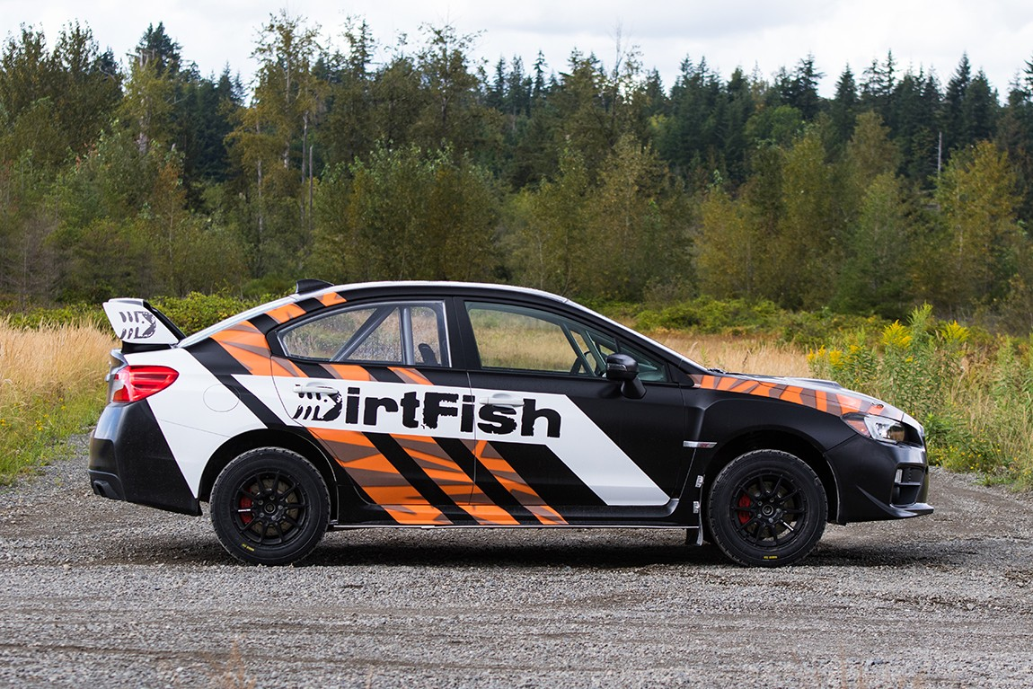 The New DirtFish 2015 Subaru STI