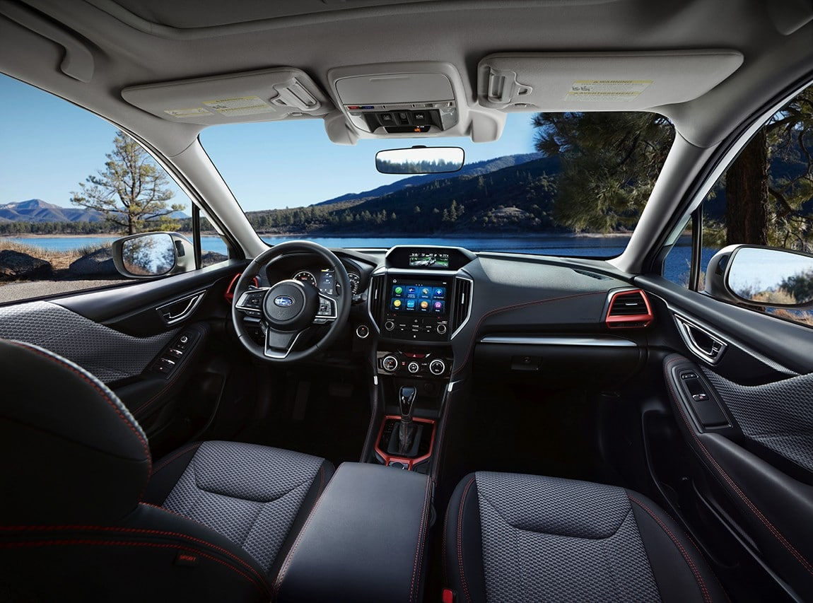 2019ForesterSport-interior