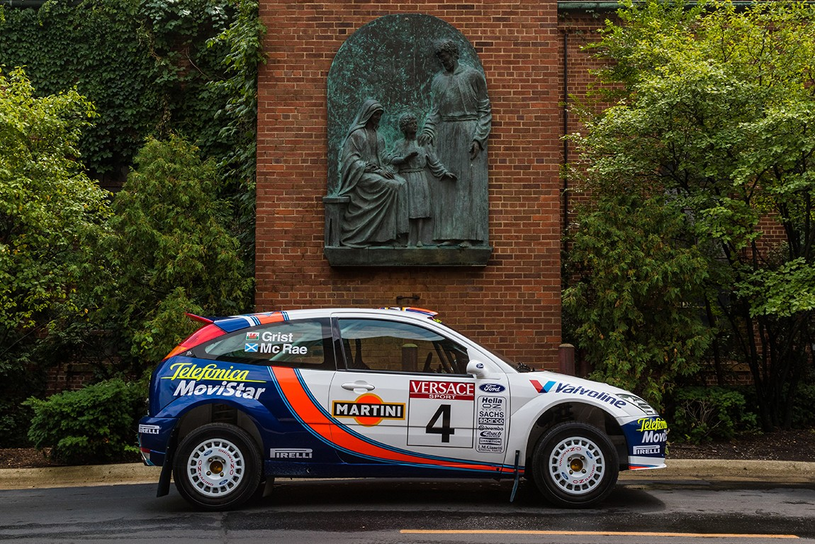 DirtFish Rally Legends: Colin McRae\'s Ford Focus RS WRC