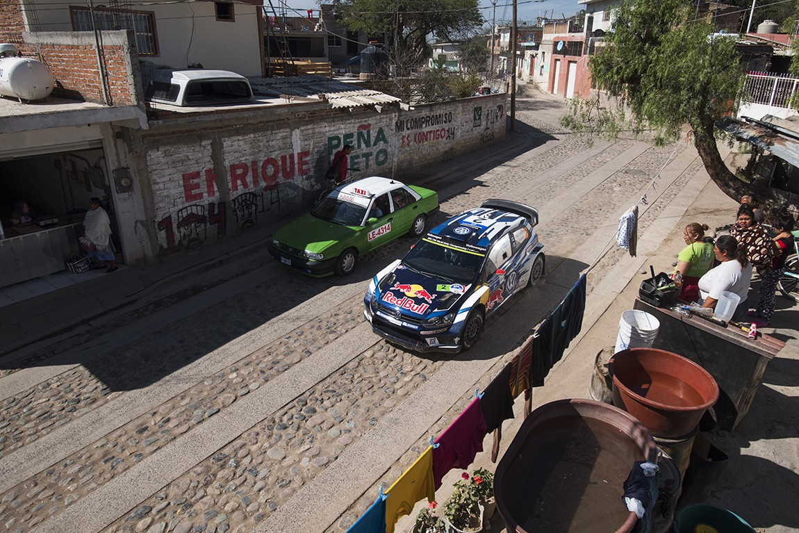 Jari-Matti Latvala (FIN seen during the FIA World Rally Championship Mexico 2016 in Leon, Mexico on March 5, 2016 // Jaanus Ree/Red Bull Content Pool // P-20160306-00028 // Usage for editorial use only // Please go to www.redbullcontentpool.com for further information. //