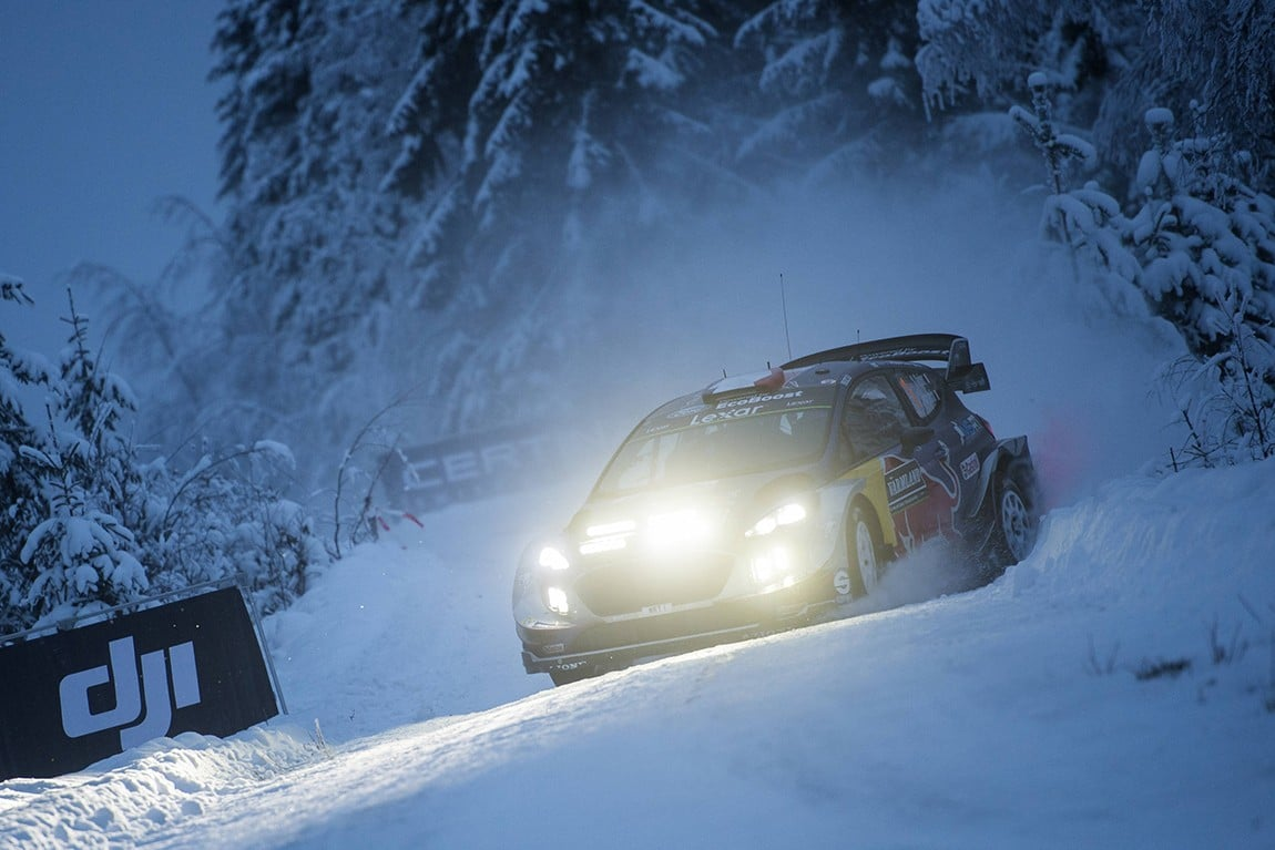Sebastien Ogier (FRA) competes during the FIA World Rally Championship 2017 in Torsby, Sweden on February 10, 2017 // Jaanus Ree/Red Bull Content Pool // P-20170210-02842 // Usage for editorial use only // Please go to www.redbullcontentpool.com for further information. //