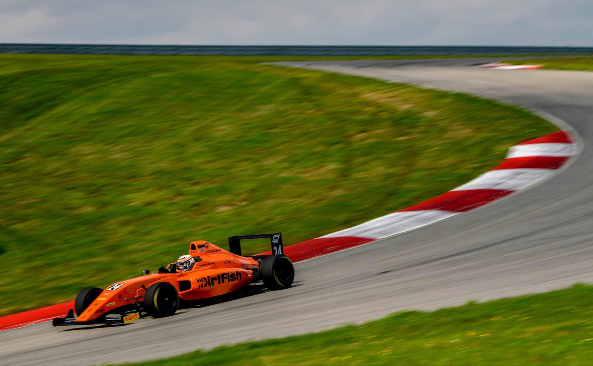 Benjamin Pedersen F4 At Pittsburgh International Race