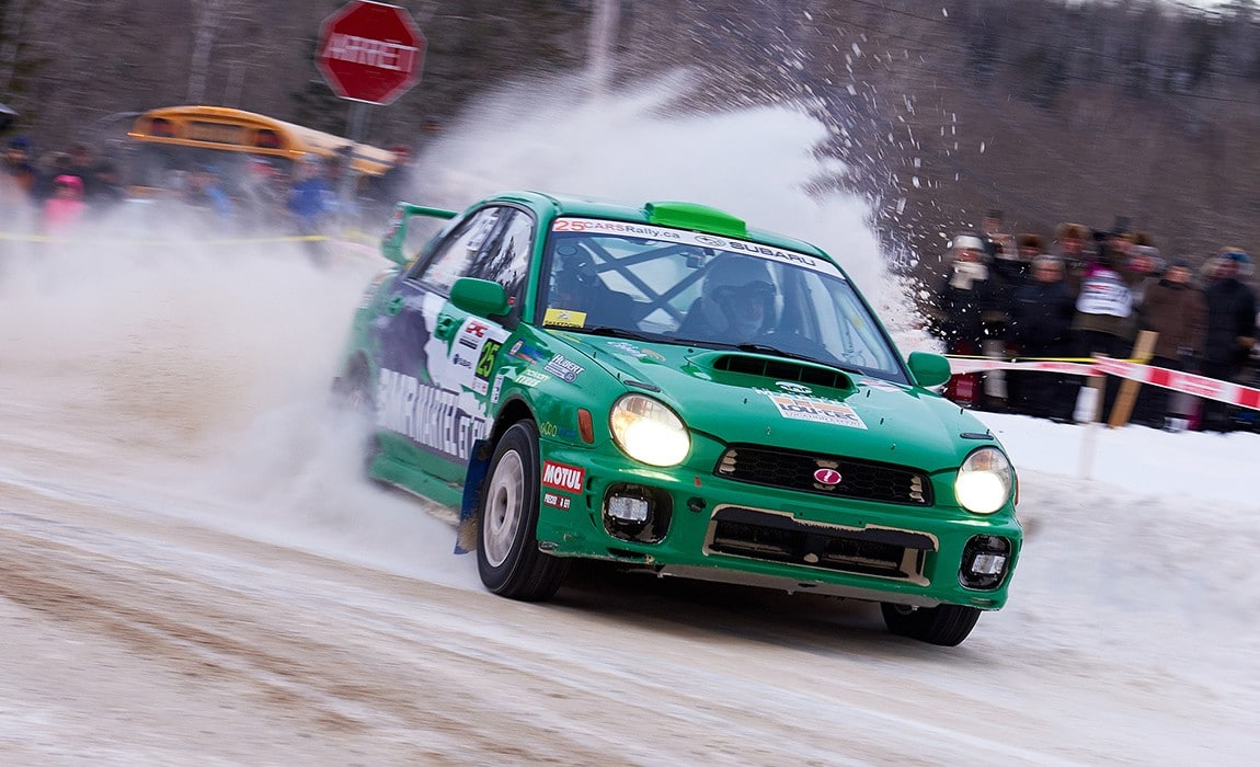 Canada is looking to bring the World Rally Championship to it's snowy stages.