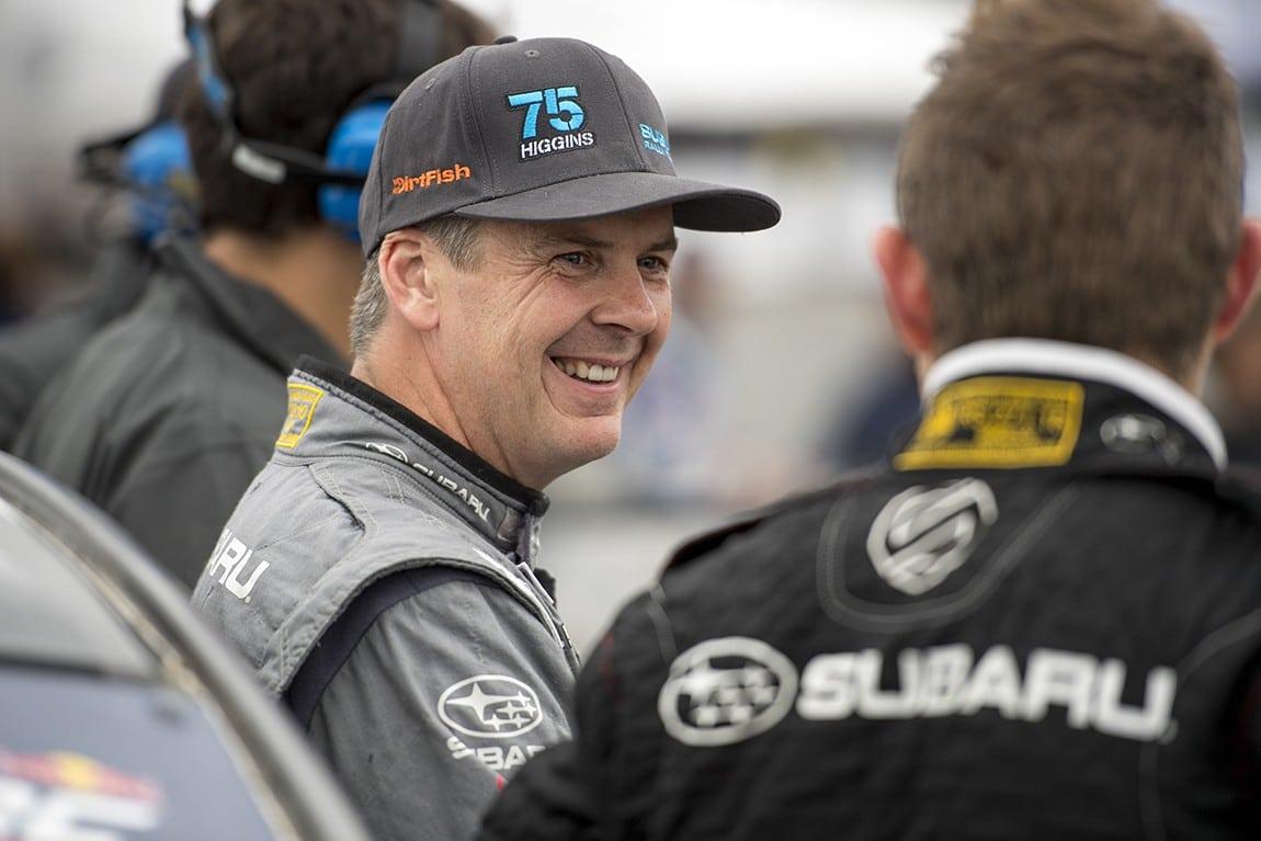 Rally America Champion David Higgins
