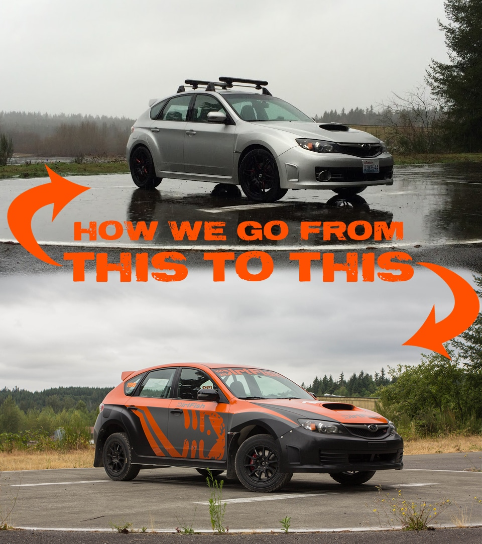 What goes into building our Subaru STi? – DirtFish