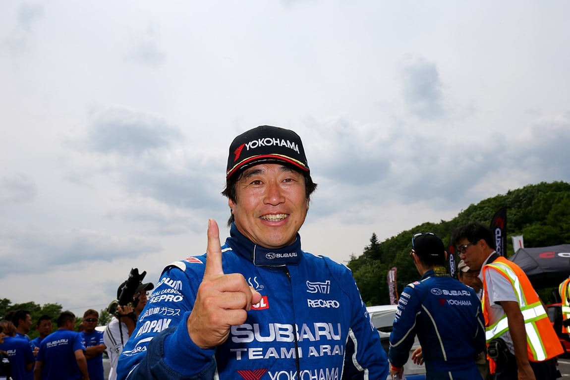 Toshihiro 'Toshi' Arai looks forward to his Red Bull GRC debut with SRTUSA.